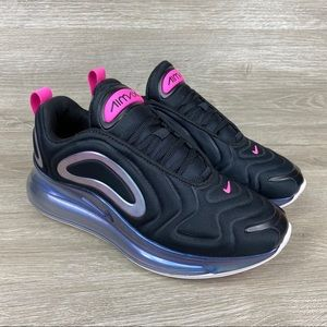 Nike Air Max 720 SE Womens Black Sneakers Size 6.5